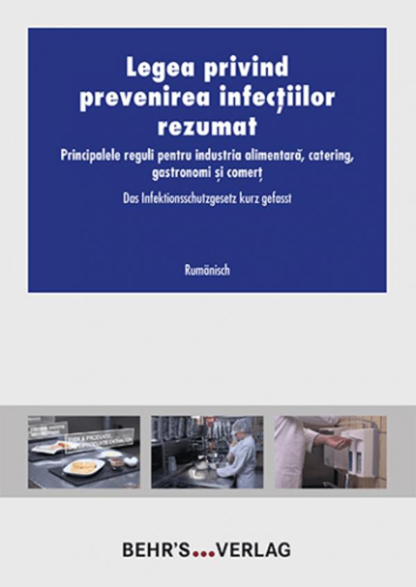 Das Infektionsschutzgesetz kurz gefasst - rumänisch