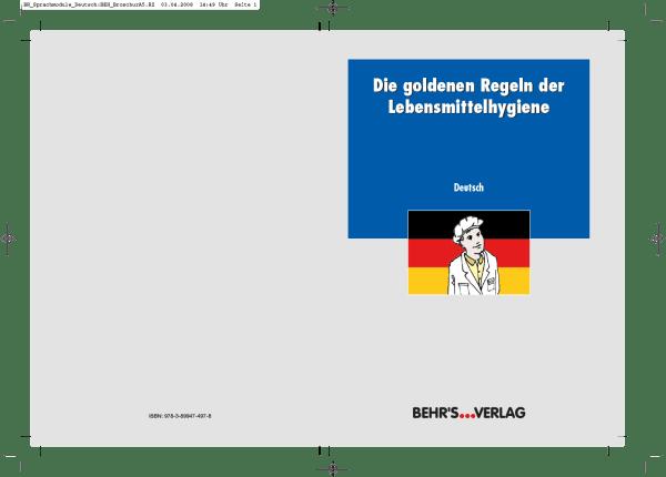 Die goldenen Regeln der Lebensmittelhygiene - deutsch