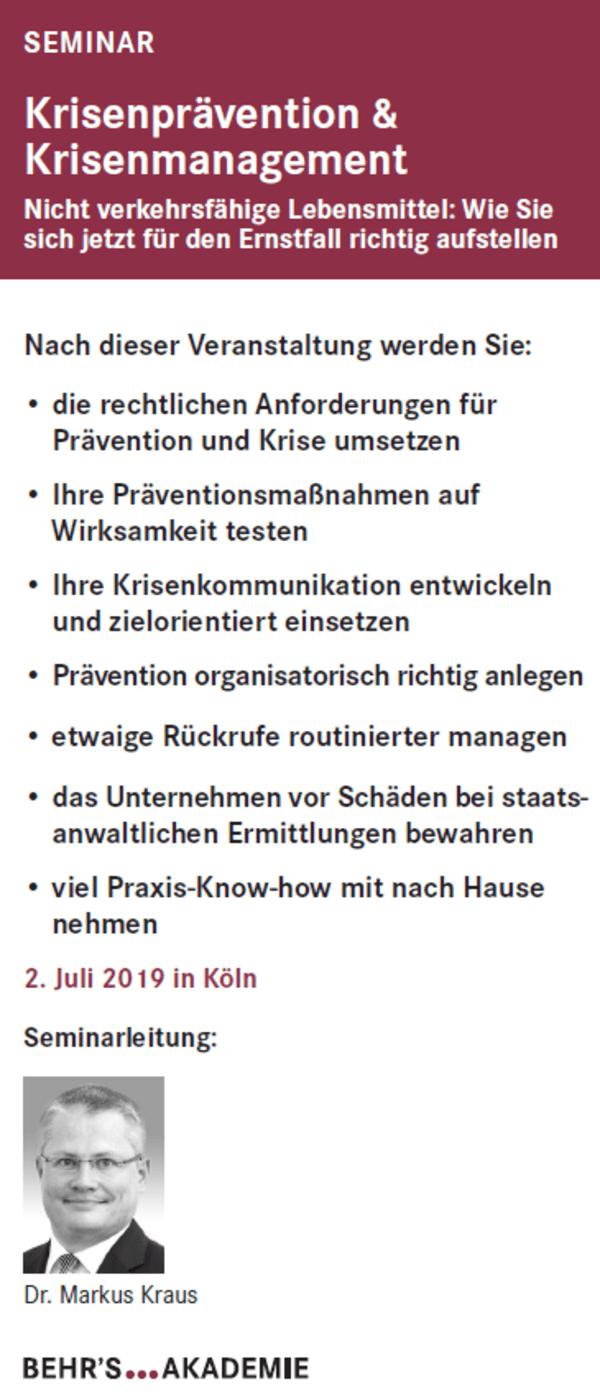 Krisenprävention & Krisenmanagement