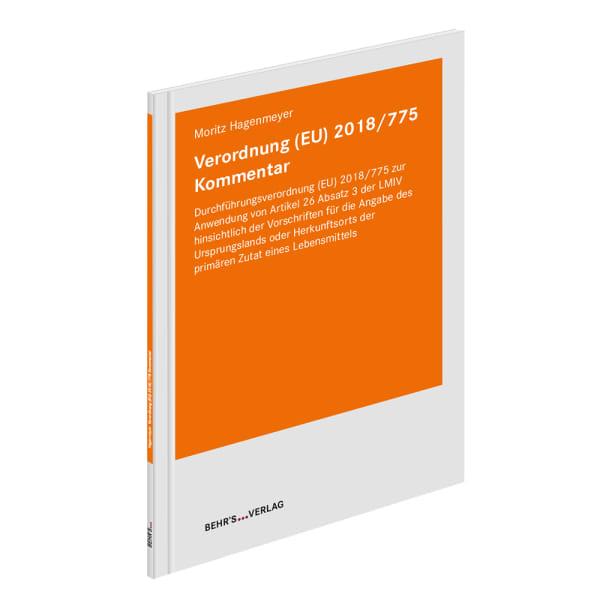 Verordnung (EU) 2018/775 Kommentar
