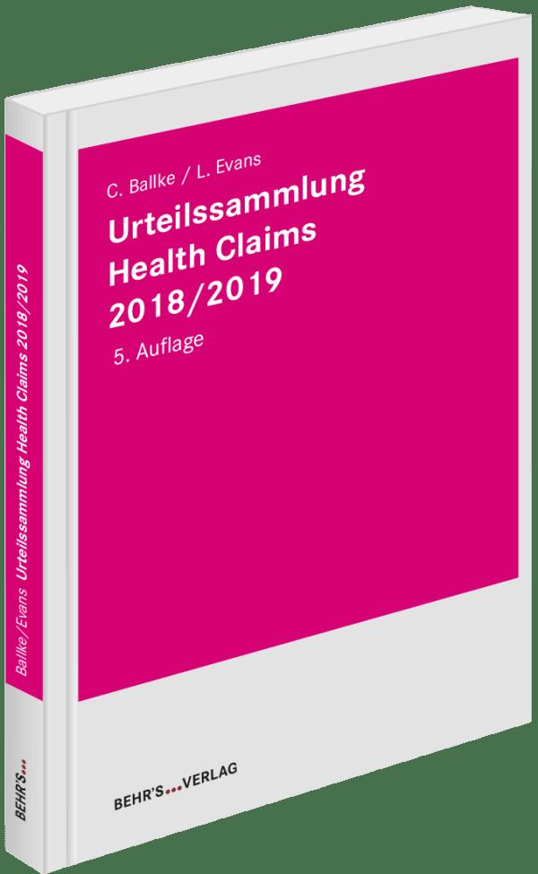 Urteilssammlung Health-Claims 2018/2019