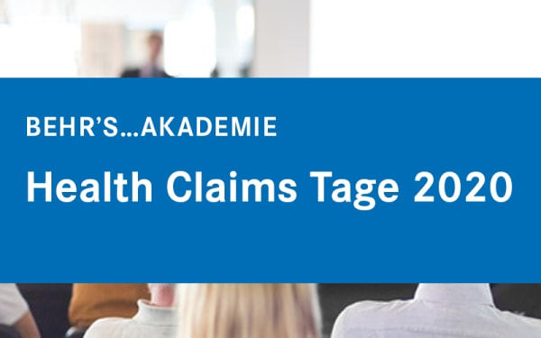 Health Claims Tage 2020