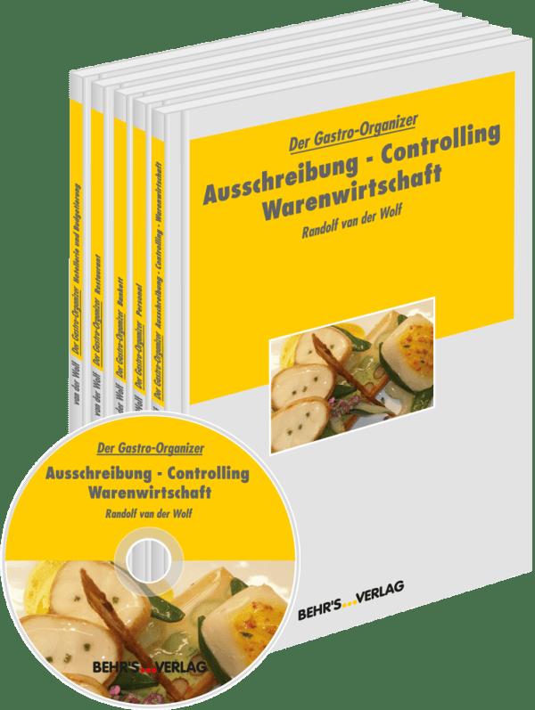 Der Gastro-Organizer - Die gesamte Reihe (Band 1-5)