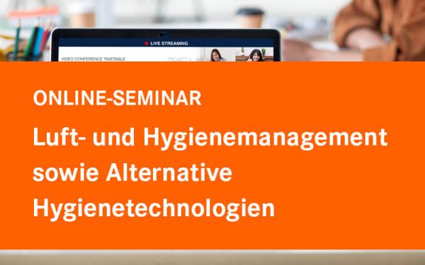 Luft- und Hygienemanagement sowie Alternative Hygienetechnologien