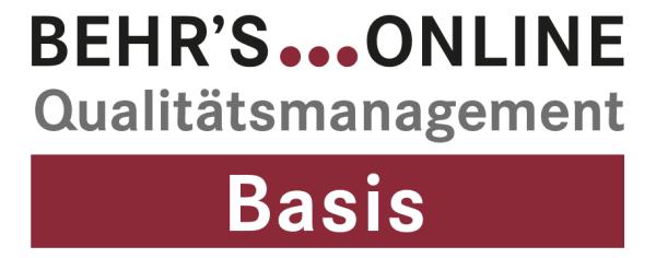 Qualitätsmanagement Basis