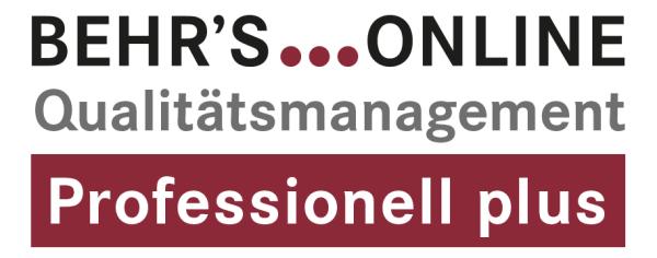 Qualitätsmanagement Professionell Plus