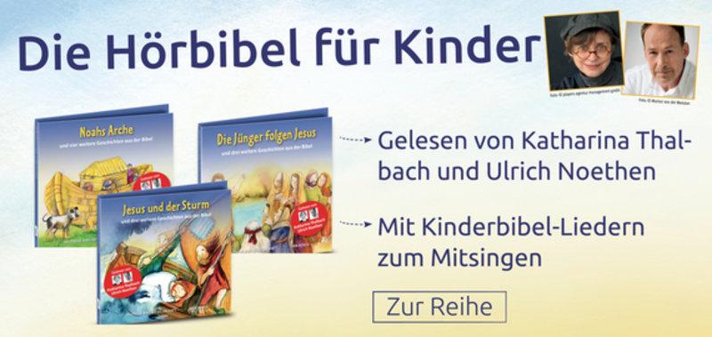 Zu den CDs der Kinder-Hörbibel