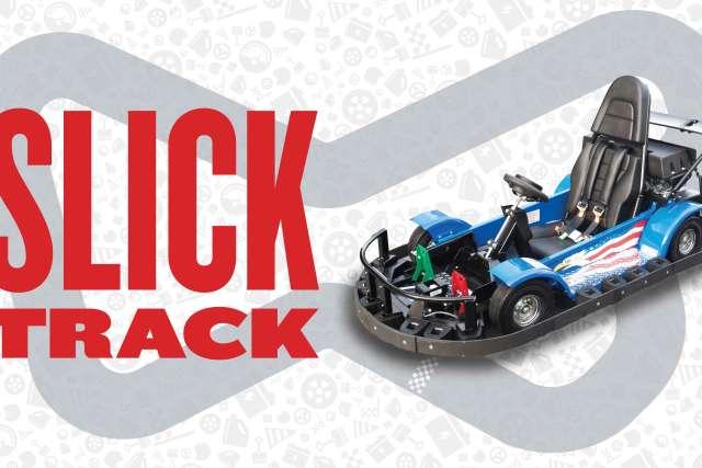 go-cart slick track