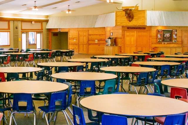 Ranch camp Dining Hall