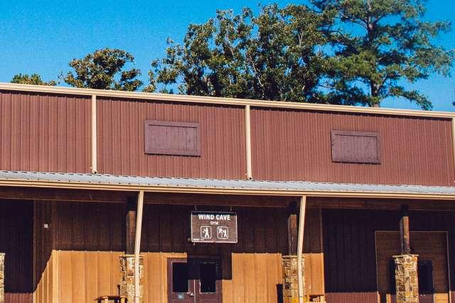 Timbers Gymnasium exterior