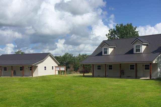 Ridge cabin exterior