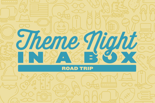 Theme Night in a Box: Road Trip header