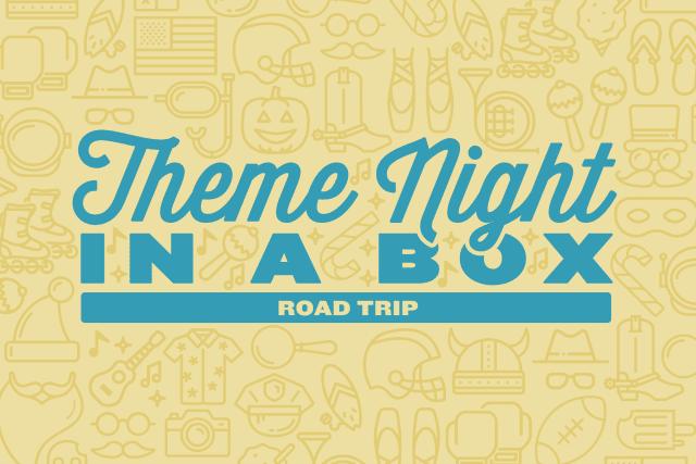 Theme Night in a Box: Road Trip header