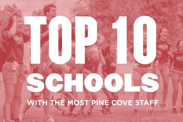 Top 10 Schools graphic