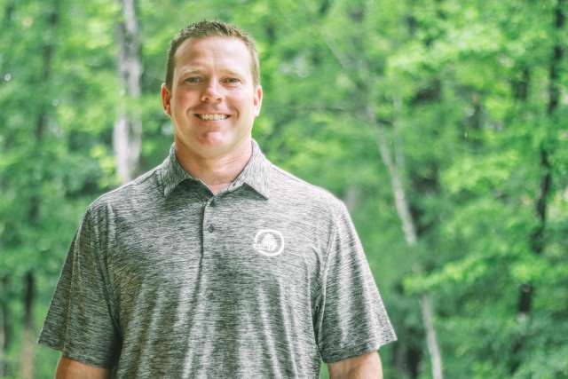 Woods camp director, Chris Boddy