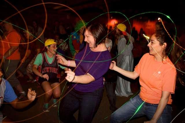 Moms Dancing at Pine Cove Weekend