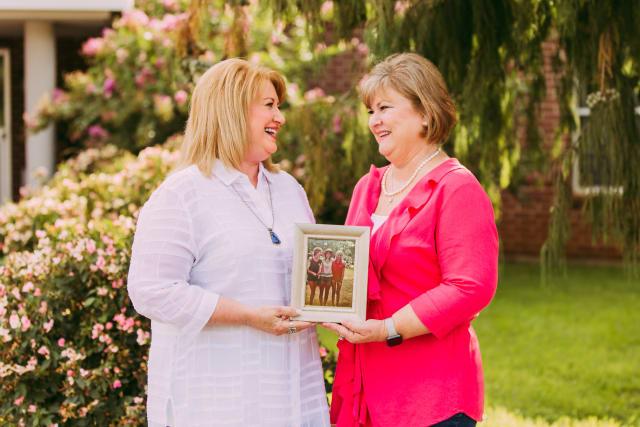 Teresa and Kathy