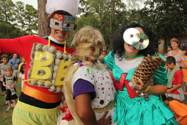 Summer Staff in Costumes