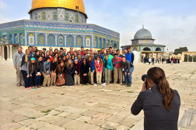 Forge Students in Jeruselam