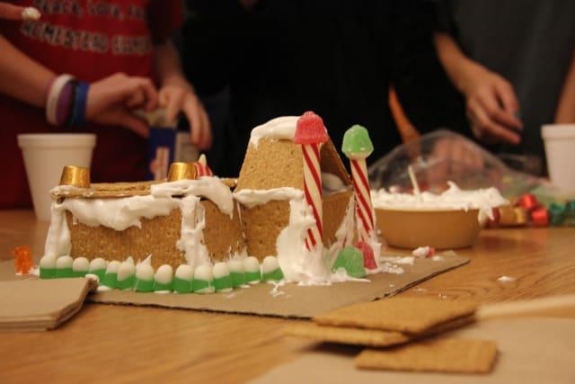 Girls Gingerbread House