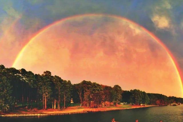 Rainbow at Pine Cove Shores