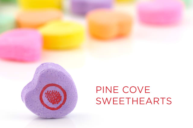 Candy Heart Pine Cove Sweethearts