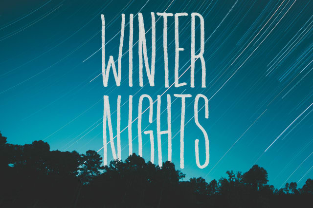 Winter Nights artwork