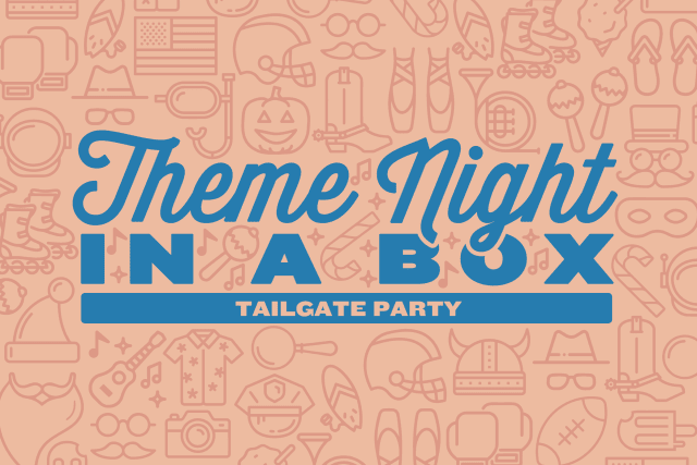 Theme Night in a Box: Tailgate Party header