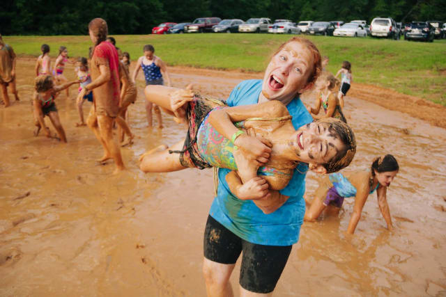 Bonnie Murphy mud pit