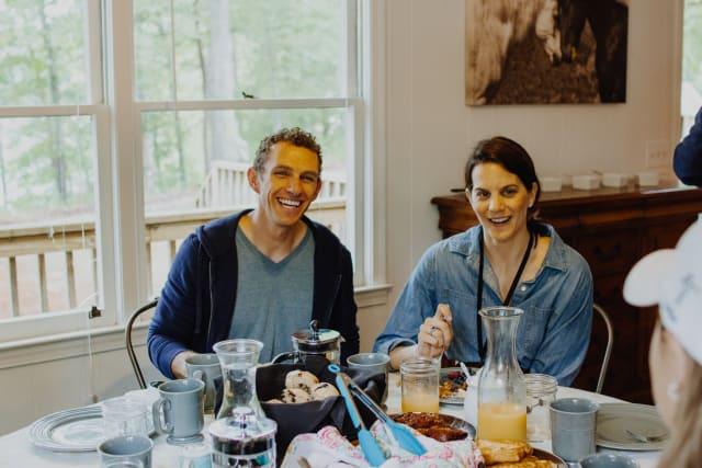 parents eating together
