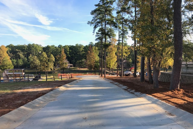 new paved road