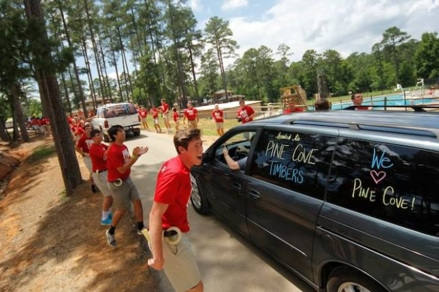 opening day greetings at pine cove