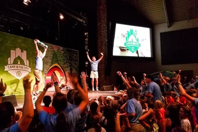 Worship at Camp in the City
