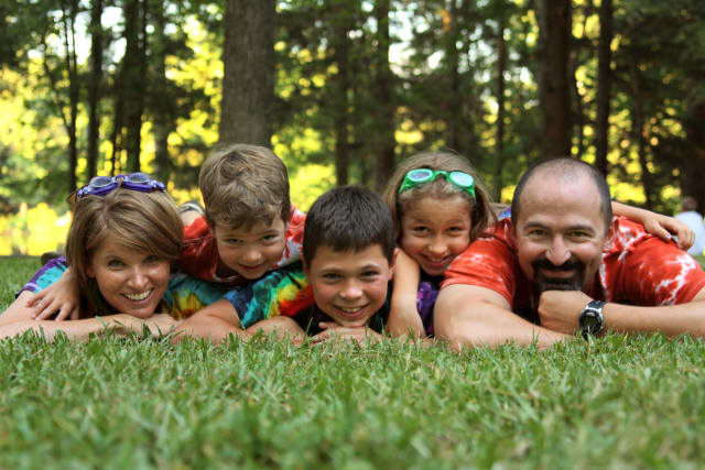 Family at Summer Camp