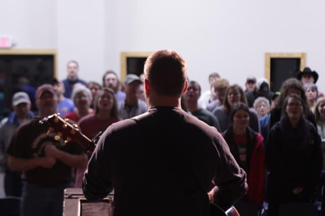 John Redfearn Leading Worship