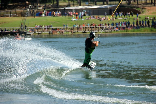 Shaun Murray Wakeboarding for Campers