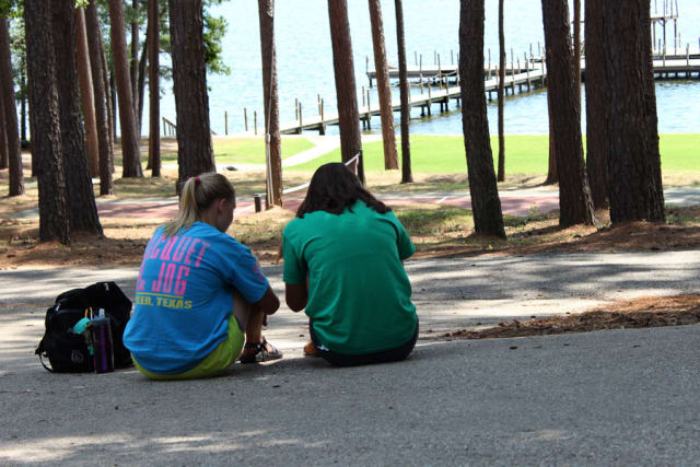 Shores Counselor and Camper