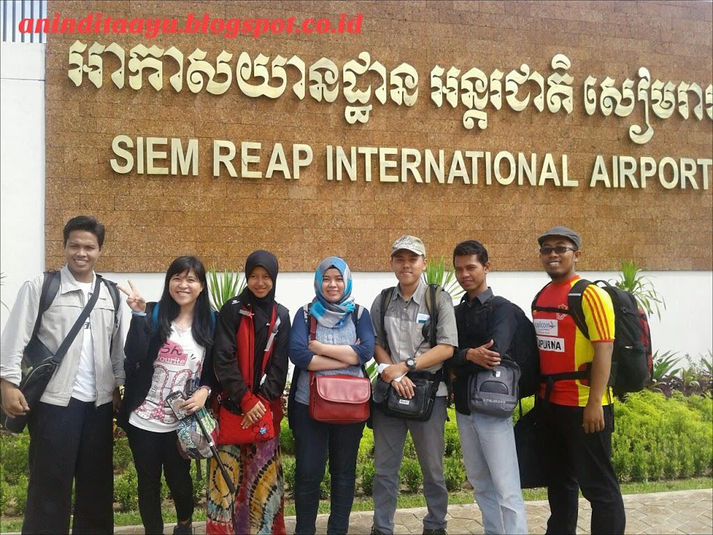 [Asean Trip 2016] We're Going to Siem Reap Cambodia!