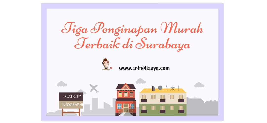 3 Penginapan Murah Terbaik di Surabaya
