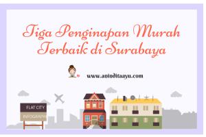 Tiga Penginapan Murah Terbaik di Surabaya