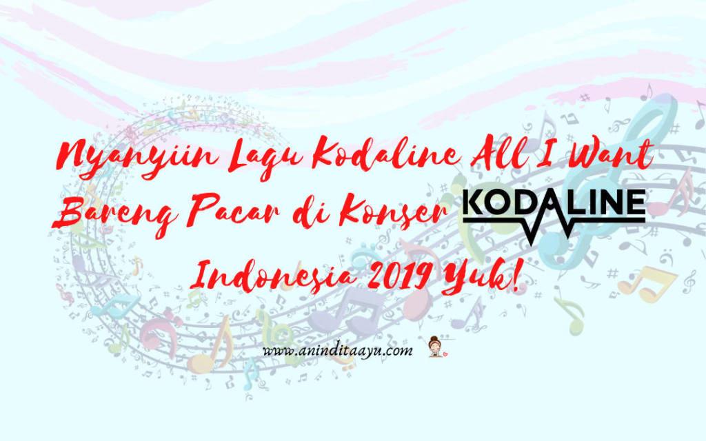 konser kodaline indonesia 2019