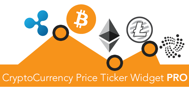 how to use cryptocurrency price ticker widget