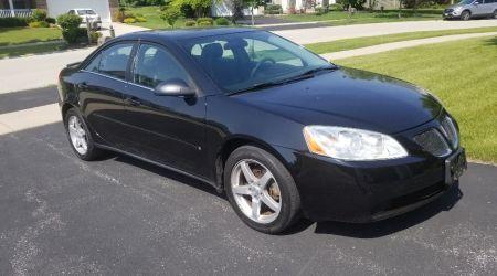 Pontiac G6 Black
