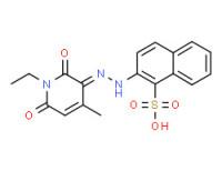 2-[(1-ethyl-1,6-dihydro-2-hydroxy-4-methyl-6-oxo-3-pyridyl)azo]naphthalene-1-sulphonic acid