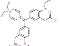 [4-[bis[3-(carboxymethyl)-4-ethoxyphenyl]methylene]-2,5-cyclohexadien-1-ylidene]dimethylammonium