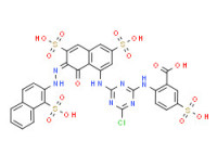 2-[[4-chloro-6-[[8-hydroxy-3,6-disulpho-7-[(1-sulpho-2-naphthyl)azo]-1-naphthyl]amino]-1,3,5-triazin-2-yl]amino]-5-sulphobenzoic acid