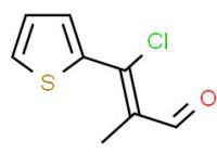 3-chloro-3-(2-thienyl)methacrylaldehyde