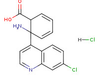 2-(7-chloroquinolin-4-yl)anthranilic acid hidrochloride