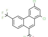 1,3-dichloro-6-(trifluoromethyl)phenanthren-9-carbonyl chloride