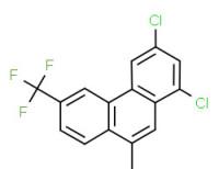 1,3-dichloro-9-methyl-6-(trifluoromethyl)phenanthrene